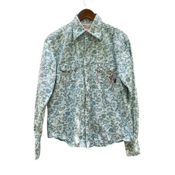Fender Pearl Snap Western Shirt Outlaw Womans